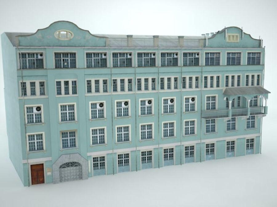 construção da cidade royalty-free 3d model - Preview no. 2