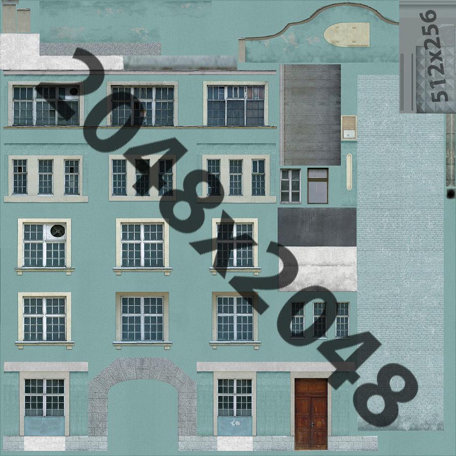 construção da cidade royalty-free 3d model - Preview no. 15