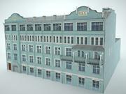 edificio de la ciudad modelo 3d