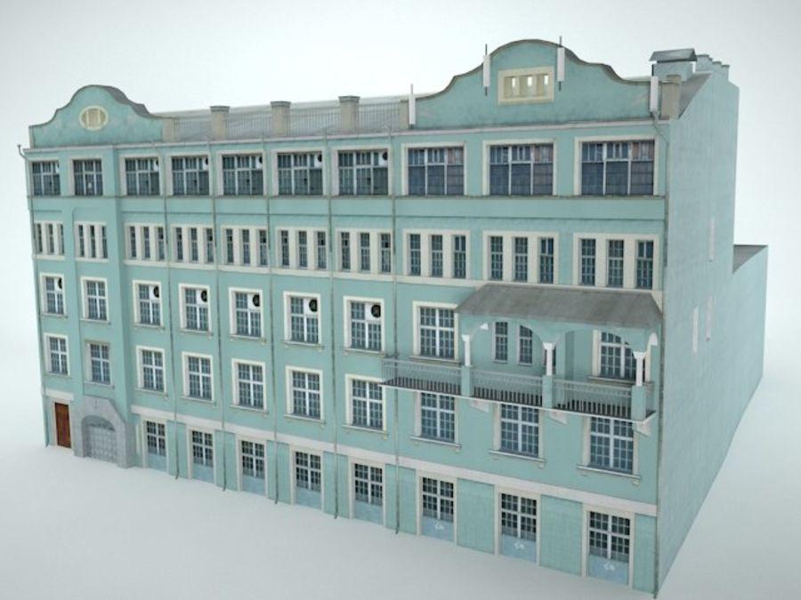 construção da cidade royalty-free 3d model - Preview no. 1
