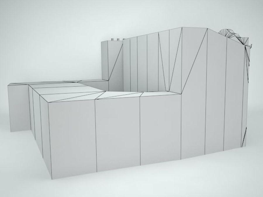 construção da cidade royalty-free 3d model - Preview no. 12