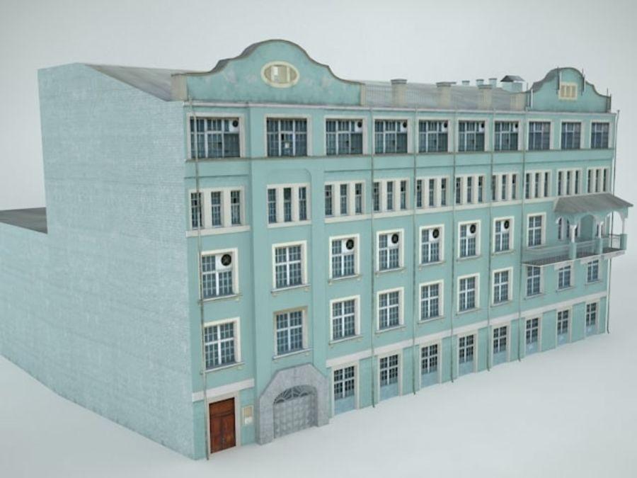 construção da cidade royalty-free 3d model - Preview no. 4