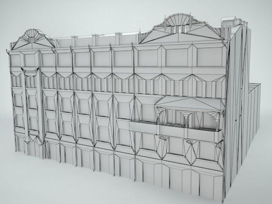 construção da cidade royalty-free 3d model - Preview no. 9