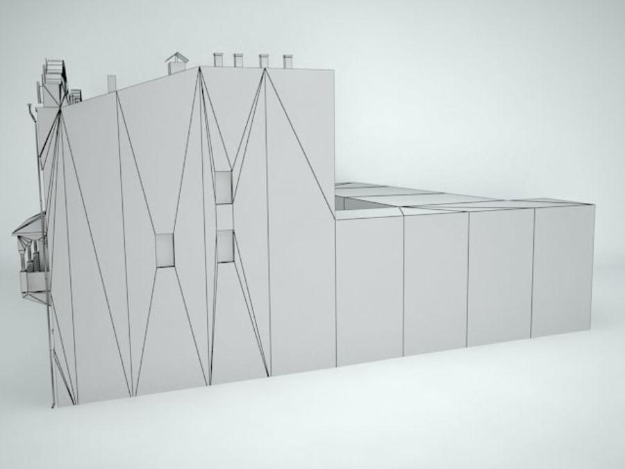 construção da cidade royalty-free 3d model - Preview no. 10