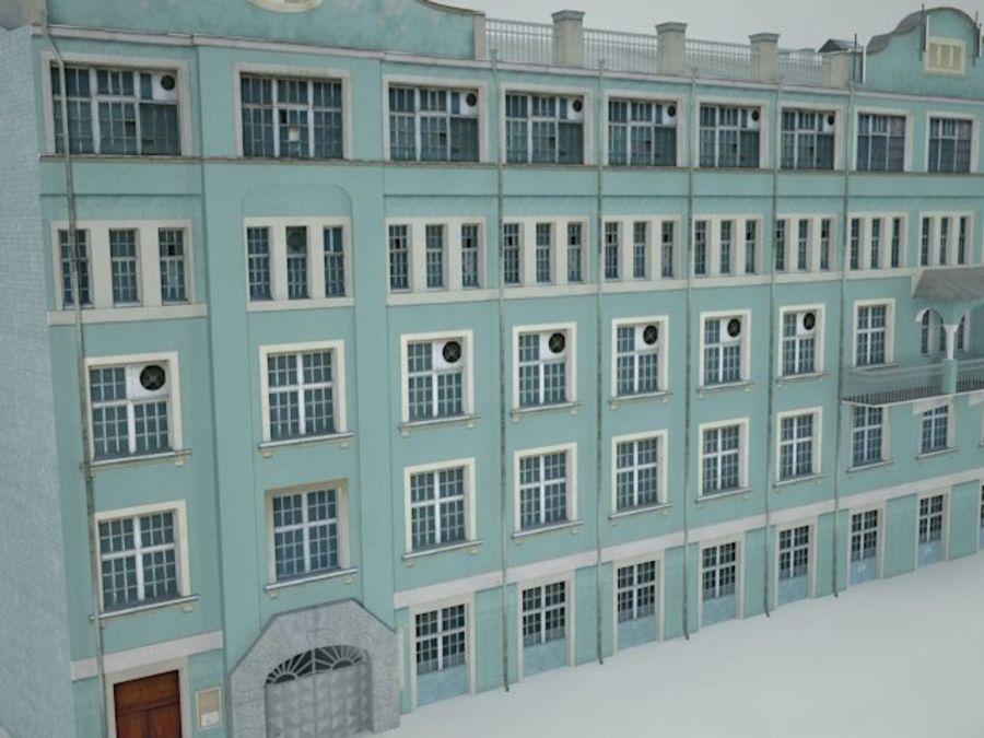 construção da cidade royalty-free 3d model - Preview no. 8