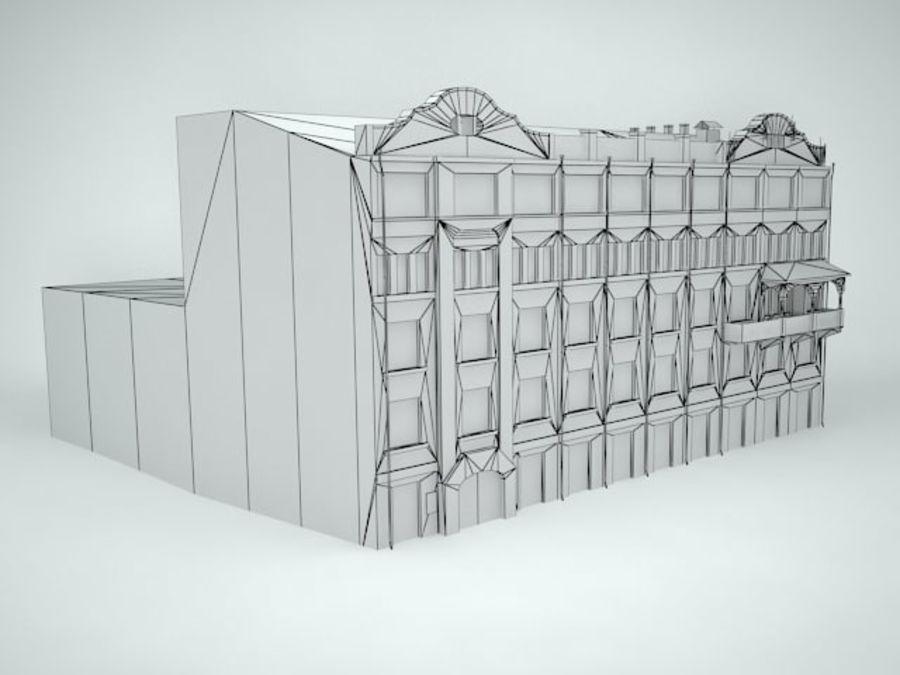 construção da cidade royalty-free 3d model - Preview no. 13