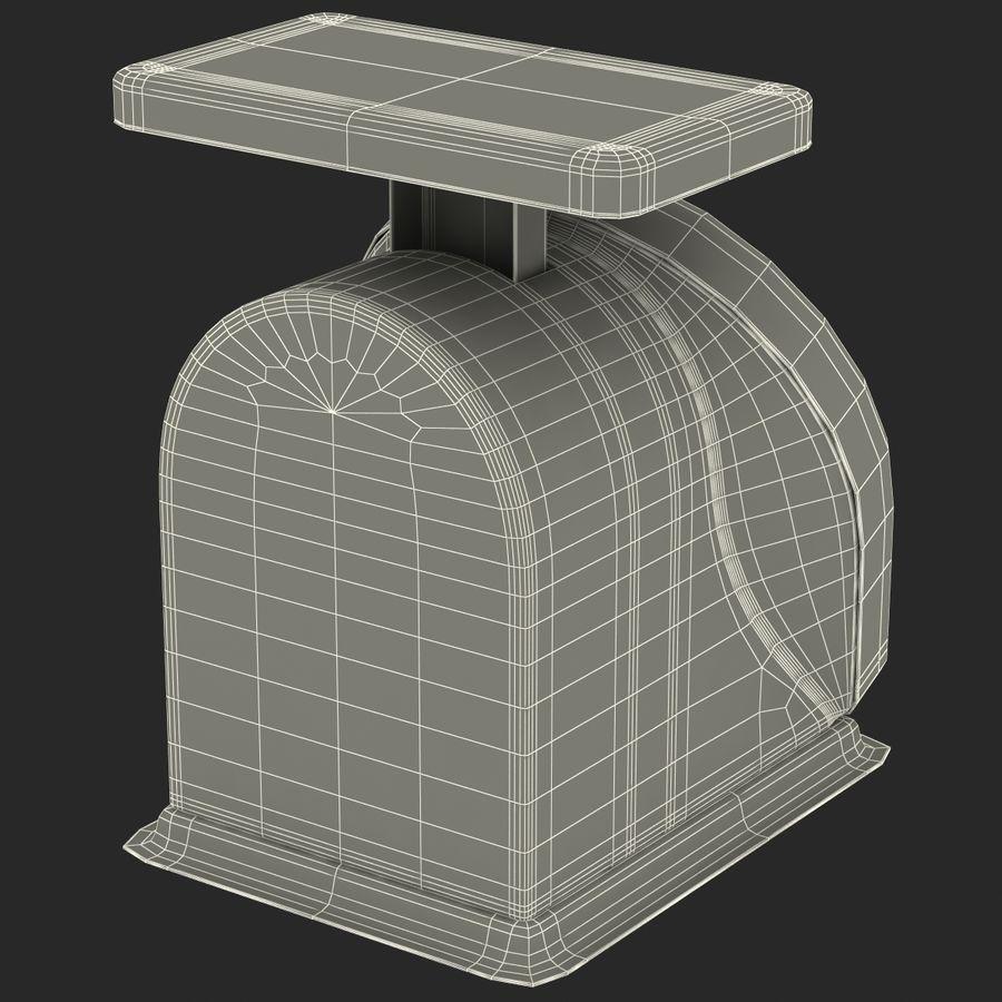 機械部制御スケール3Dモデル royalty-free 3d model - Preview no. 18