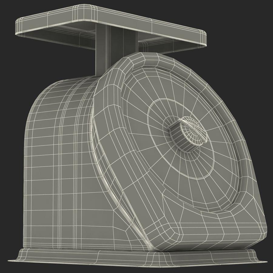 機械部制御スケール3Dモデル royalty-free 3d model - Preview no. 17
