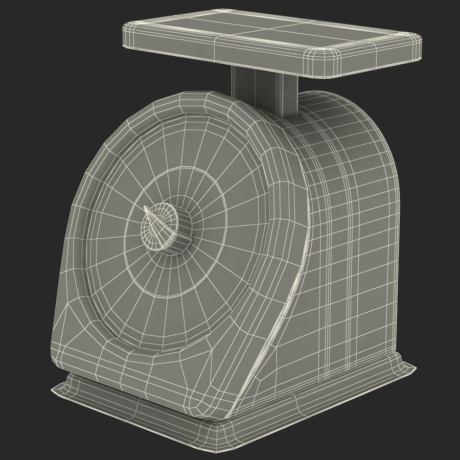 機械部制御スケール3Dモデル royalty-free 3d model - Preview no. 16