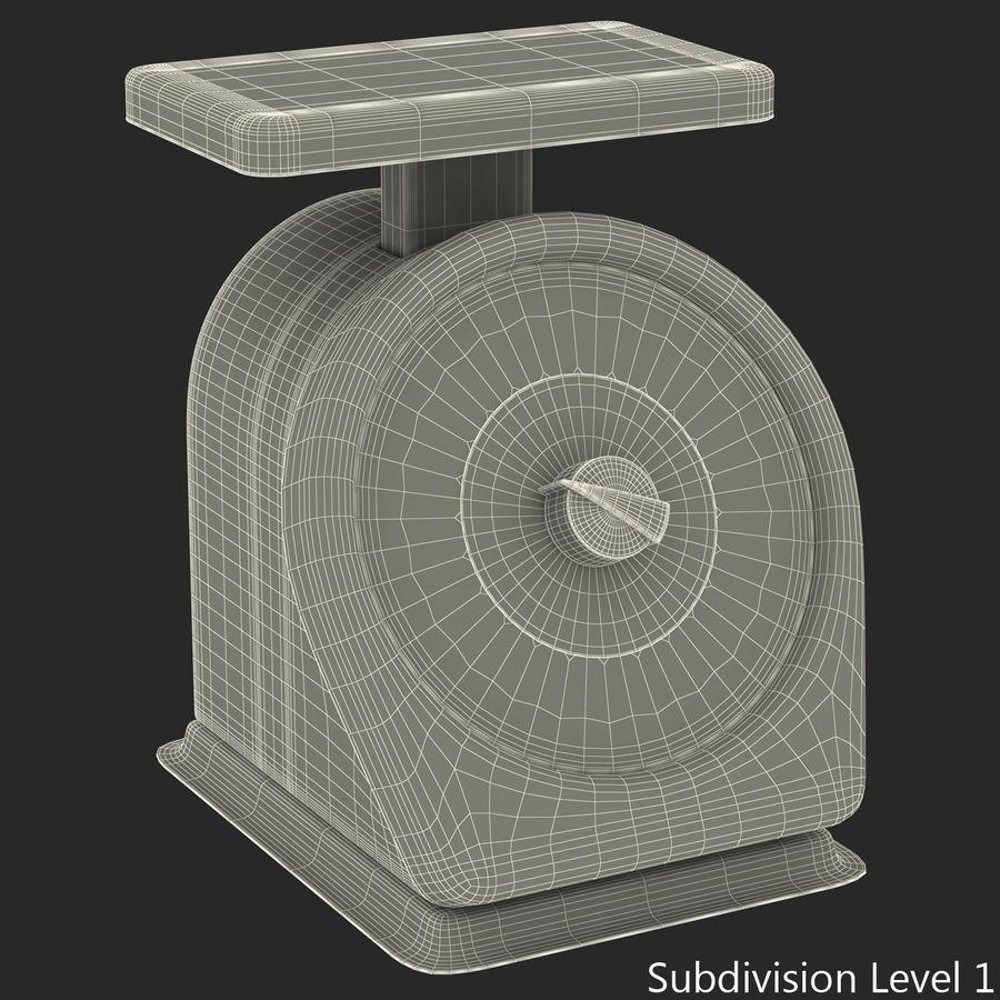 機械部制御スケール3Dモデル royalty-free 3d model - Preview no. 12