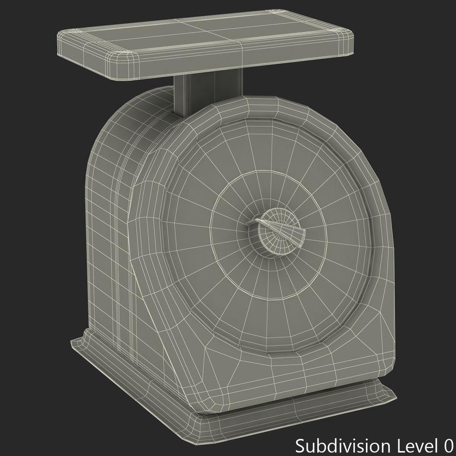 機械部制御スケール3Dモデル royalty-free 3d model - Preview no. 11