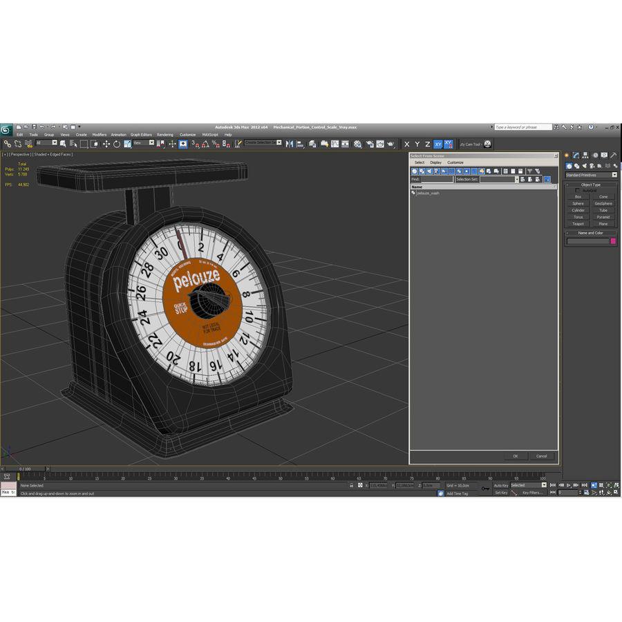 機械部制御スケール3Dモデル royalty-free 3d model - Preview no. 15