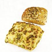 Bread Bundle 3d model