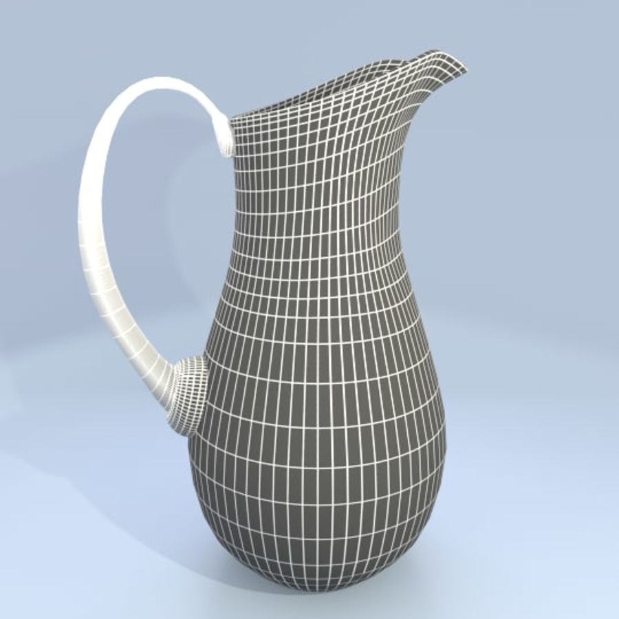 Juice Pitcher 2 royalty-free 3d model - Preview no. 5