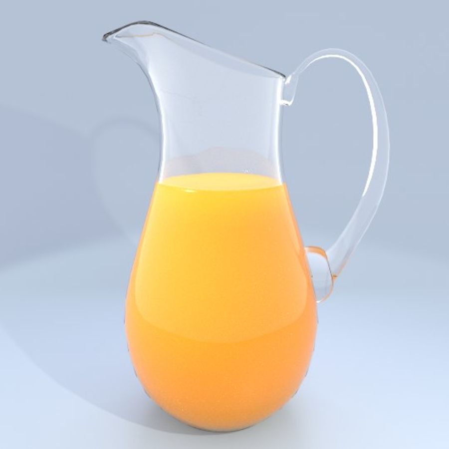 Juice Pitcher 2 royalty-free 3d model - Preview no. 1