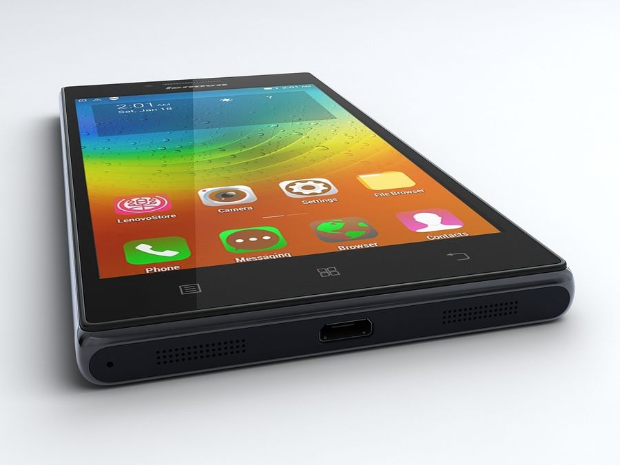 Lenovo P70 royalty-free 3d model - Preview no. 5