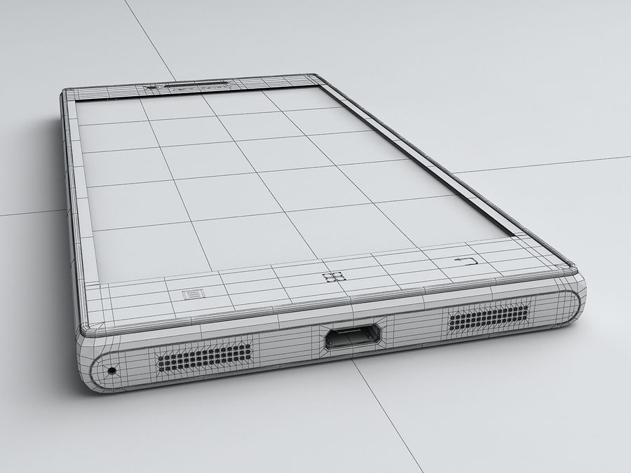 Lenovo P70 royalty-free 3d model - Preview no. 20