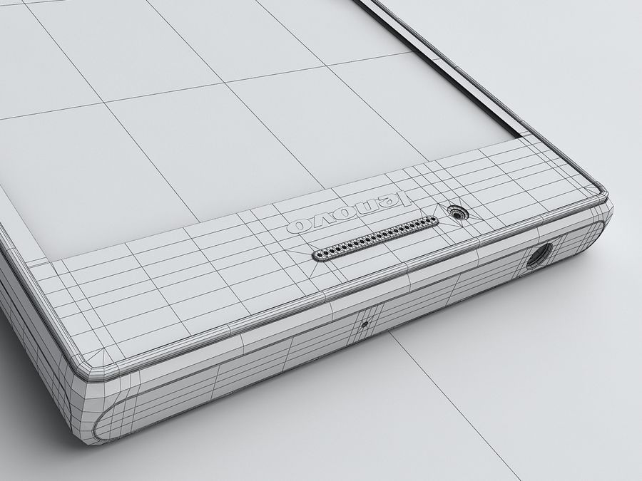 Lenovo P70 royalty-free 3d model - Preview no. 22