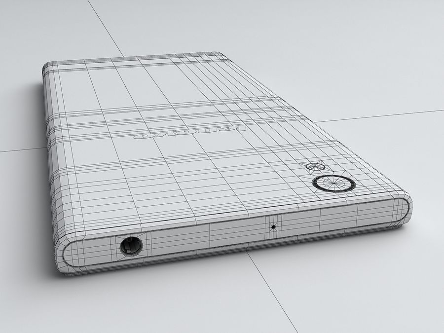 Lenovo P70 royalty-free 3d model - Preview no. 21