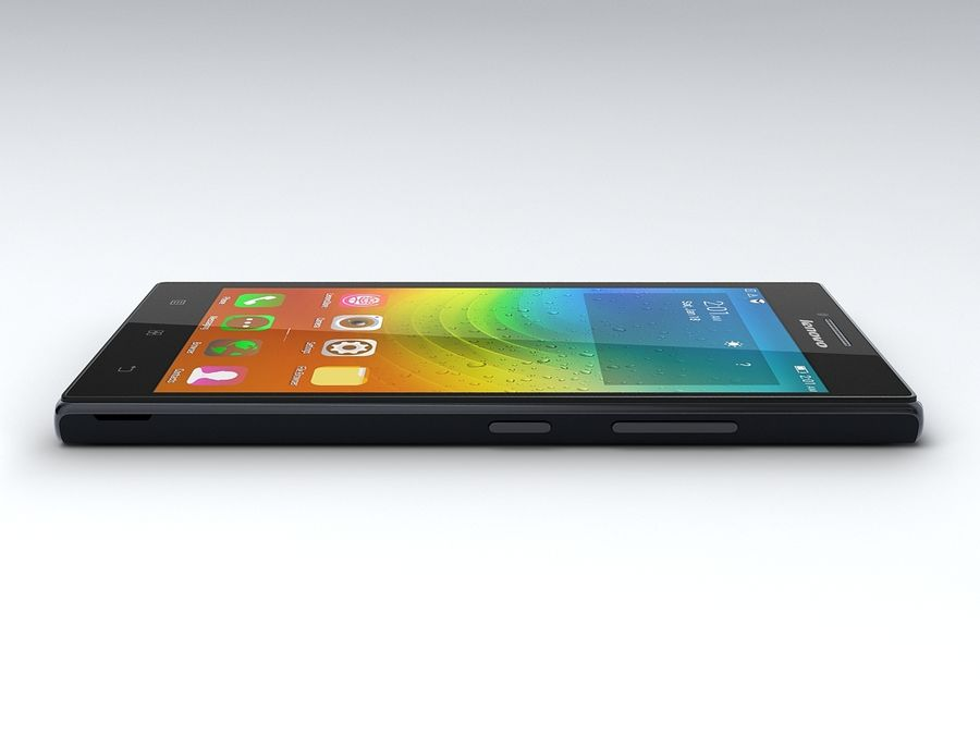 Lenovo P70 royalty-free 3d model - Preview no. 9