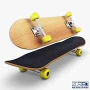 Skateboard v 2 3d model
