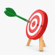 Targeting 3d model
