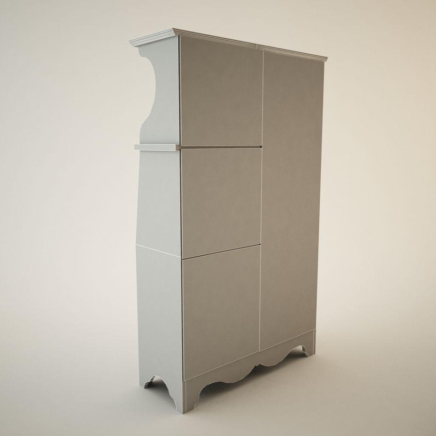 Zabytkowa Hutch royalty-free 3d model - Preview no. 6