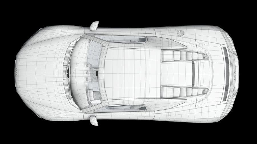 R8 Spyder V10 royalty-free 3d model - Preview no. 14
