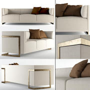 Oslo Sofa / Troscandesign 3d model
