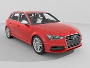 Audi S3 Sportback (2014) 3d model