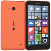 Microsoft Lumia 640 Dual SIM Orange 3d model