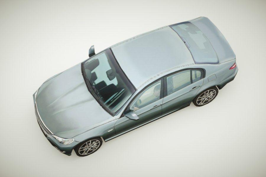 Generic Sedan v3 royalty-free 3d model - Preview no. 3