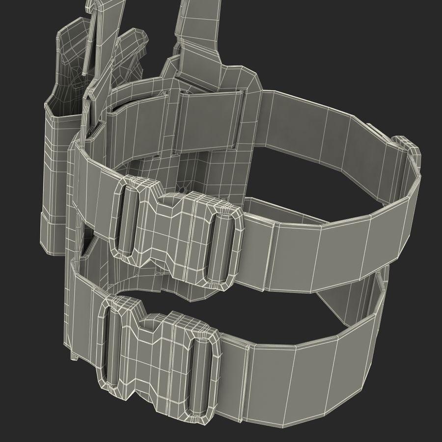 전술 다리 권총 집게 royalty-free 3d model - Preview no. 24