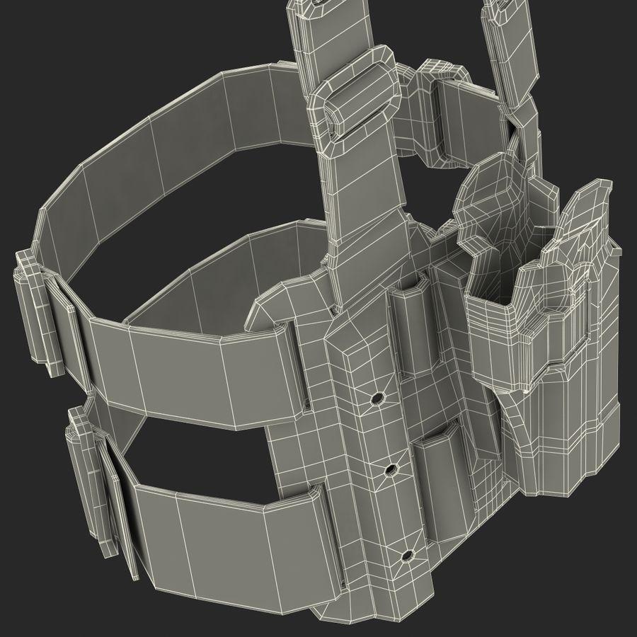 전술 다리 권총 집게 royalty-free 3d model - Preview no. 25