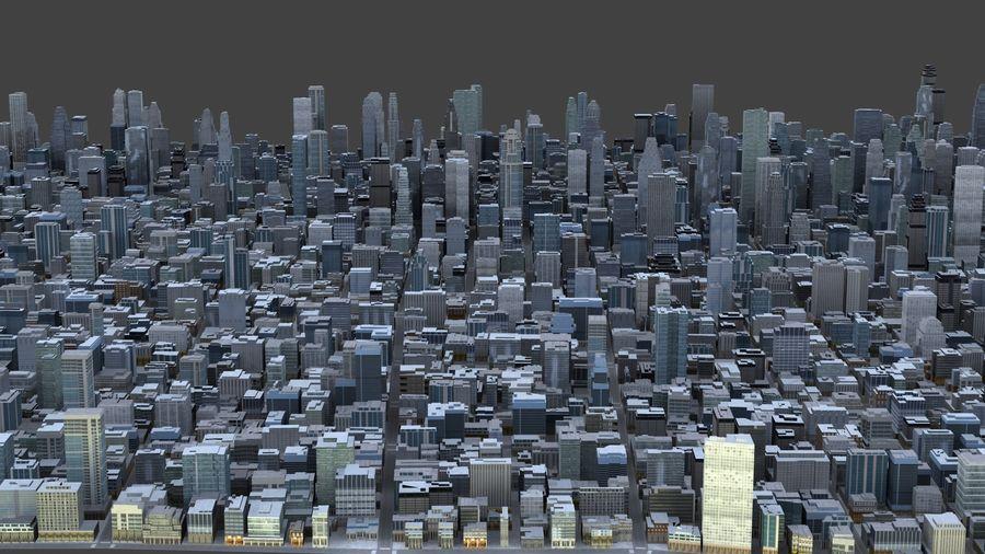 Big City 36 royalty-free 3d model - Preview no. 7