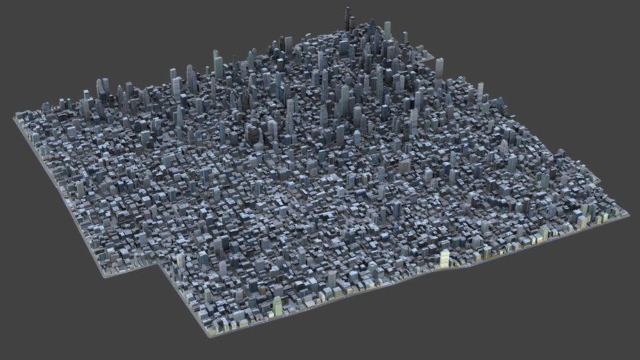 Big City 36 royalty-free 3d model - Preview no. 1