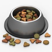 宠物食品碗 3d model