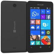 微软Lumia 430双卡黑色 3d model