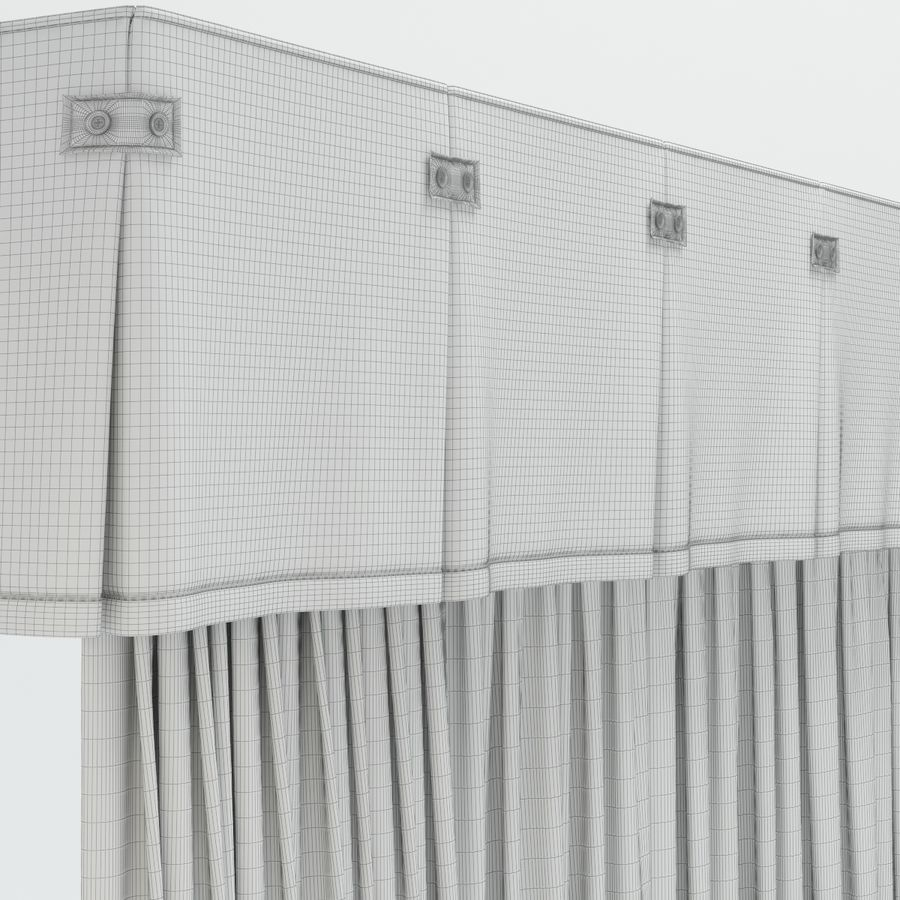 curtains royalty-free 3d model - Preview no. 11