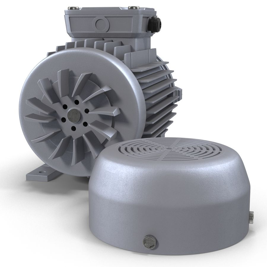 Electric Motor royalty-free 3d model - Preview no. 21