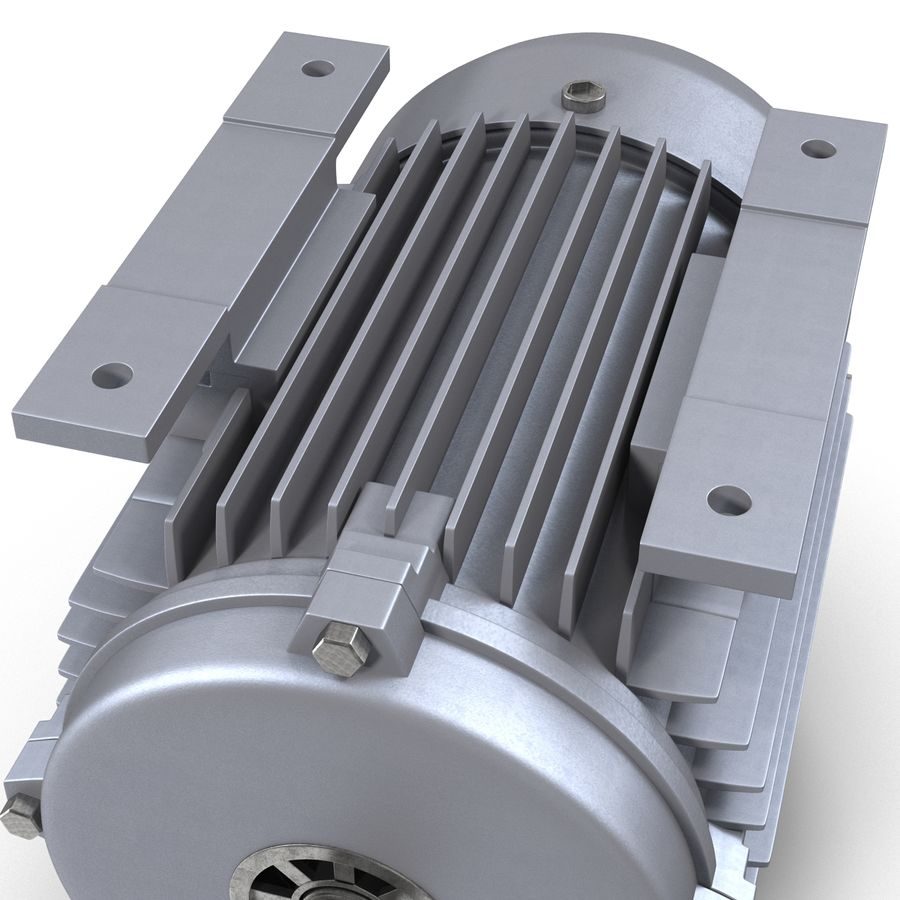 Electric Motor royalty-free 3d model - Preview no. 19