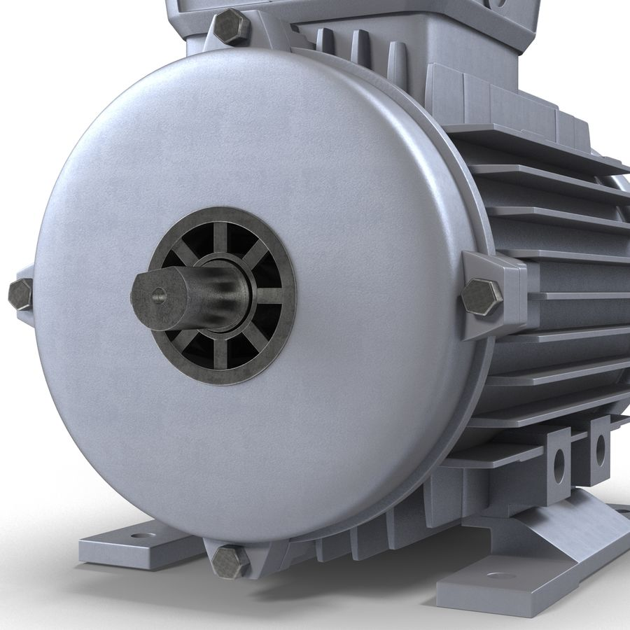 Electric Motor royalty-free 3d model - Preview no. 25