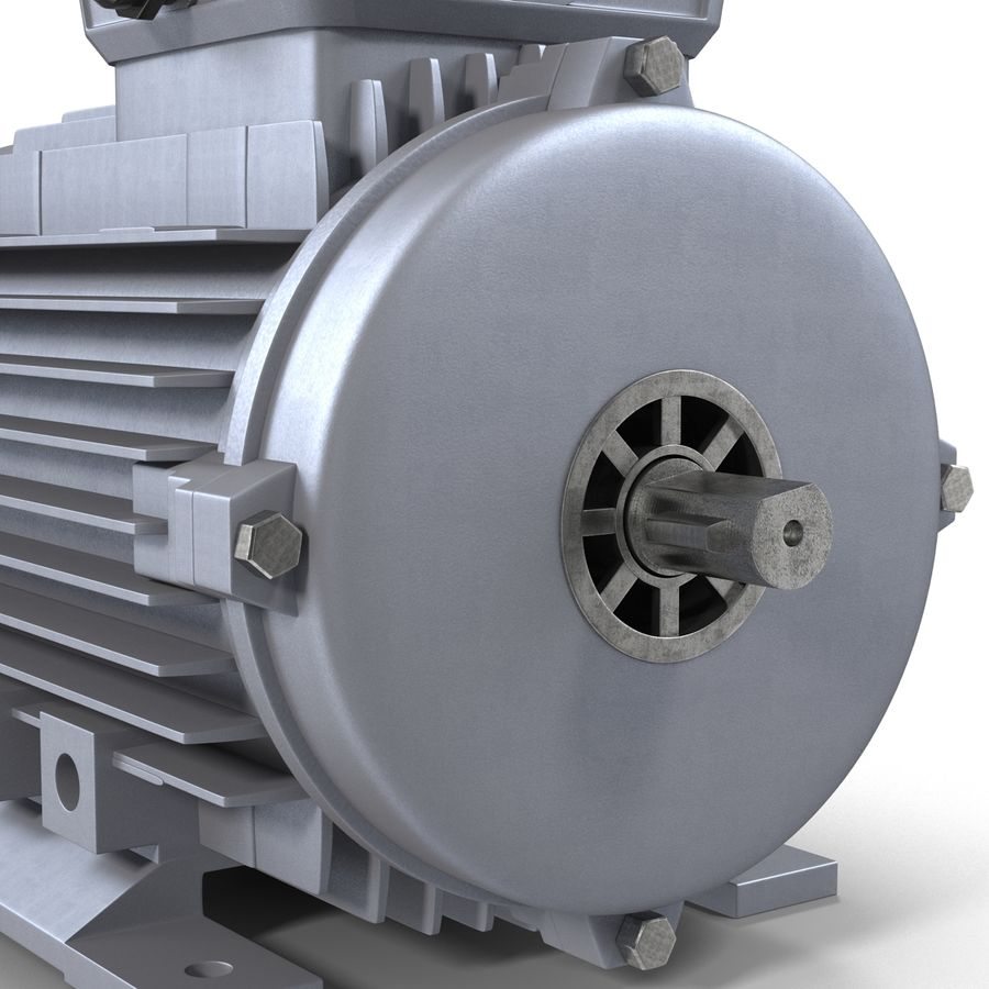 Elektrische motor royalty-free 3d model - Preview no. 13