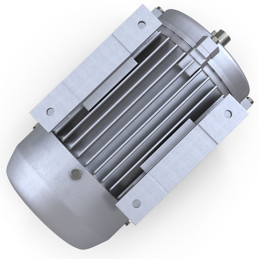 Electric Motor royalty-free 3d model - Preview no. 11