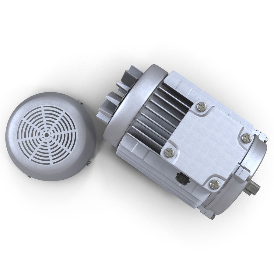 Electric Motor royalty-free 3d model - Preview no. 23