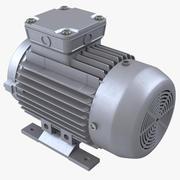 电动马达 3d model