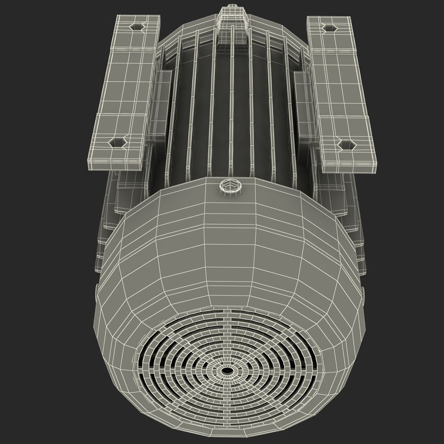 Electric Motor royalty-free 3d model - Preview no. 42