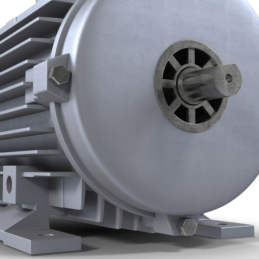 Electric Motor royalty-free 3d model - Preview no. 17