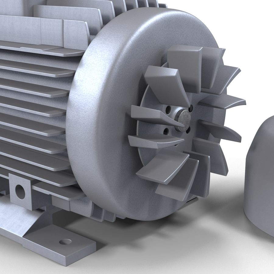 Electric Motor royalty-free 3d model - Preview no. 20