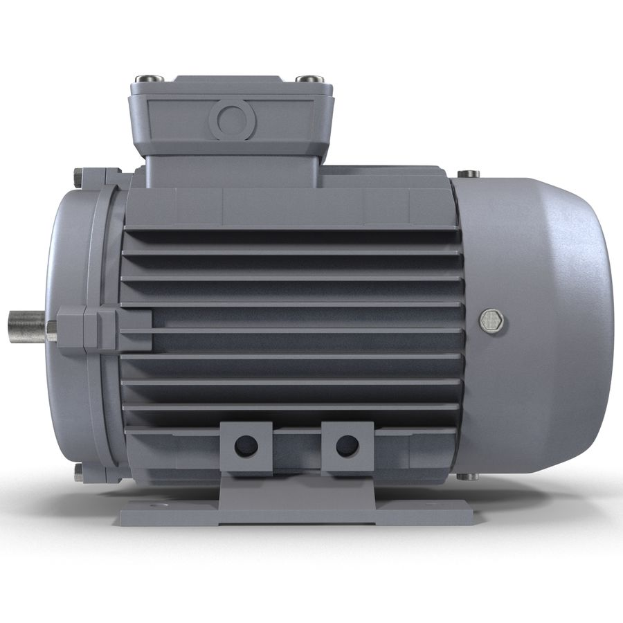 Electric Motor royalty-free 3d model - Preview no. 3